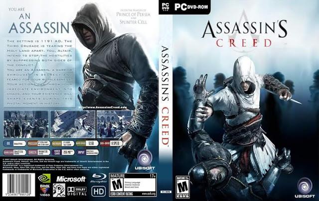 تنزيل  لعبة الاكشن والمغامرات Assassin's Creed I كاملة ومضغوطه  فقط بحجم 2.30 جيجا وبرابط واحد على ميديافاير