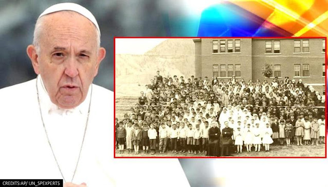 Paus Sedih atas Penemuan Jasad 215 Anak di Bekas Sekolah Katolik, Tapi Tidak Minta Maaf