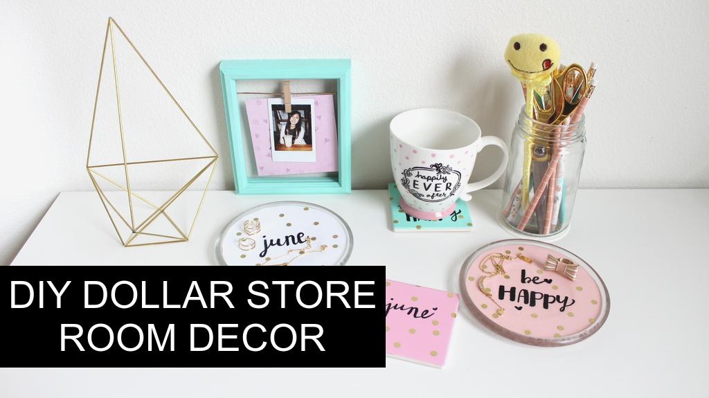 Diy Dollar Tree Room Decor Tumblr Pinterest Inspired Part 2 Junebeautique