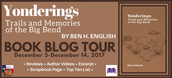 Yonderings Book Blog Tour #LoneStarLit