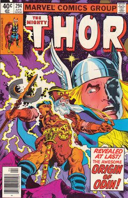 Thor #294, the origin of Odin