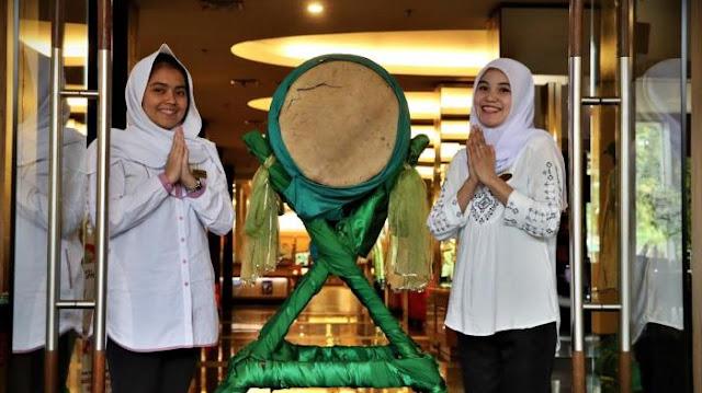 Dekorasi Ramadhan di Kantor Pintu Depan