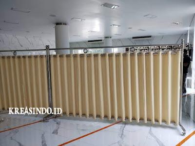 Harga Hijab Masjid Stainless atau Pembatas Sholat atau Partisi Masjid Terbaru [ Update Juli 2021 ]