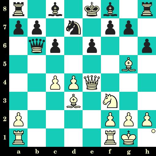 Les Blancs jouent et matent en 2 coups - Springe vs Dietmar Gebhard, Munich, 1927