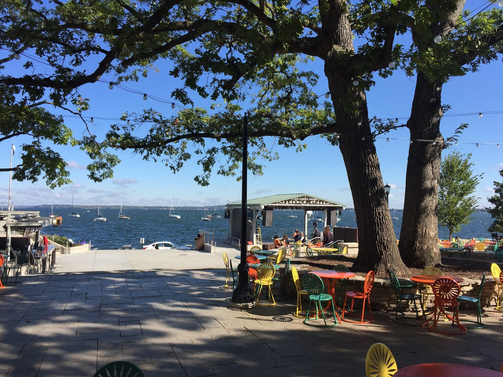 Retiring guy 39 s digest then and now lake mendota from for Terrace uw madison