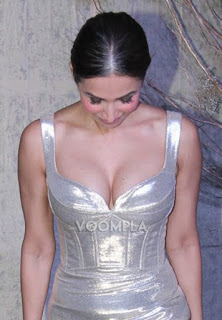 Malaika  in silver low neckline dress pic 640x920.jpg