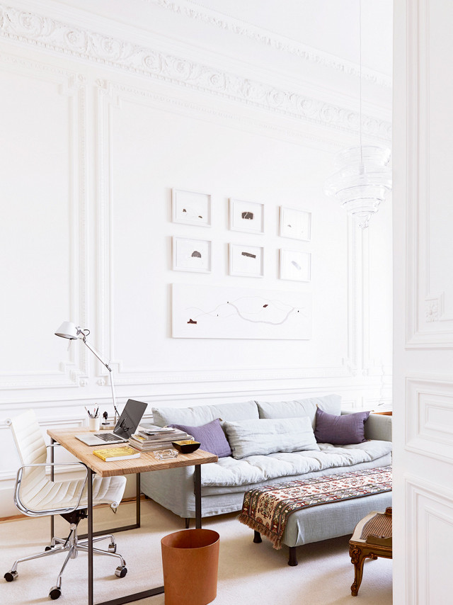 Paris apartment by A+B Kasha