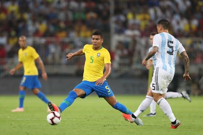Seleção Brasileira enfrenta a Argentina nesta sexta-feira em Riad