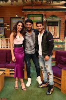 The Kapil Sharma Show with Abbas Mustan and Machine cast   TV Show Pics March 2017 07.JPG