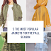 Top 5 Most Popular Womens Jackets For Fall 2019-2020!!
