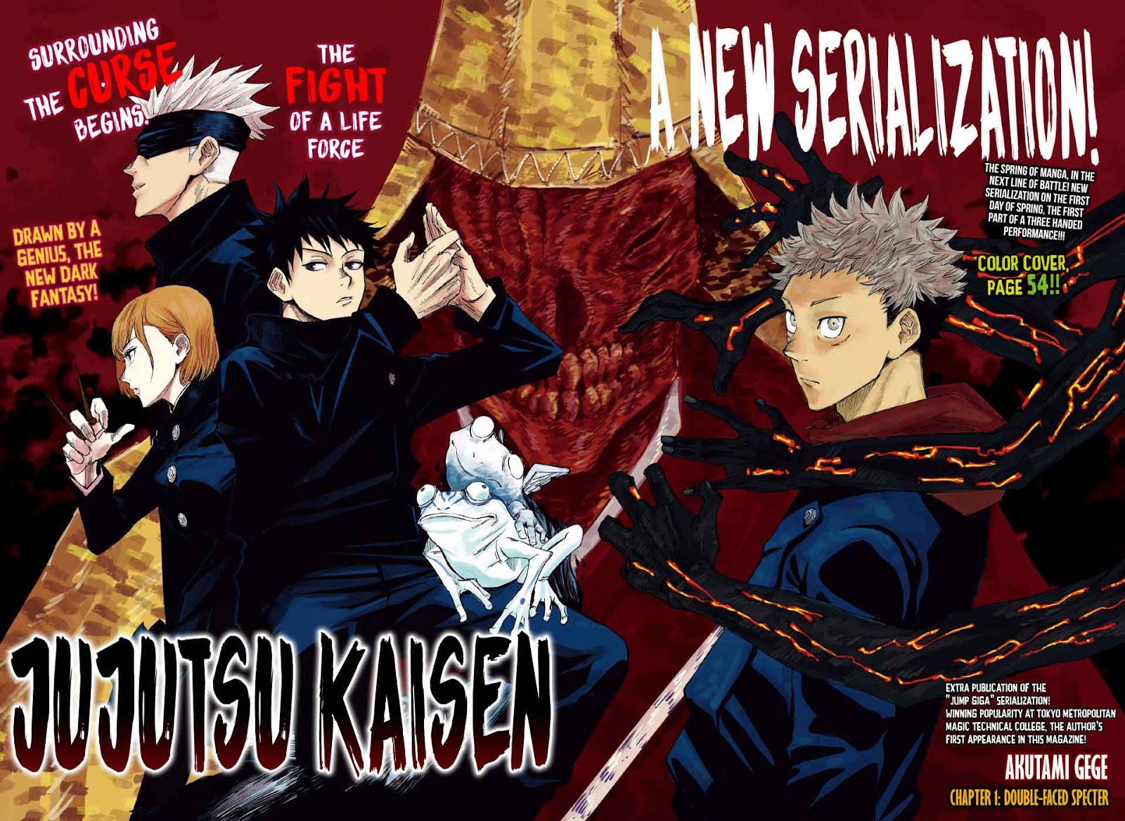 jujustu kaisen manga online
