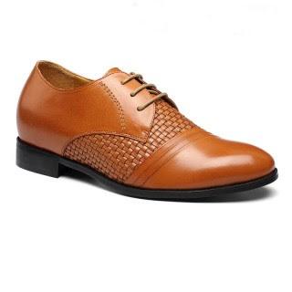 Superior Genuine Elevator Mens Lifting Shoes Leather Designer Dress BESPOKE Heel Inserts Shoes