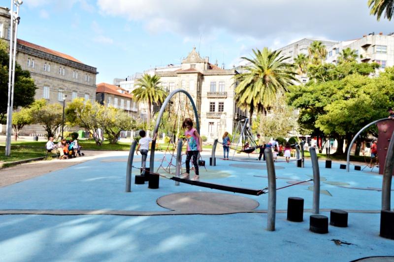 parques en pontevedra para niños parque de las palmeras