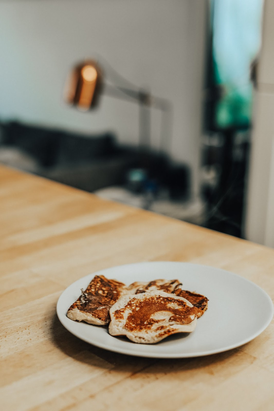 Egg, Banana + Baking Soda Pancake recipe
