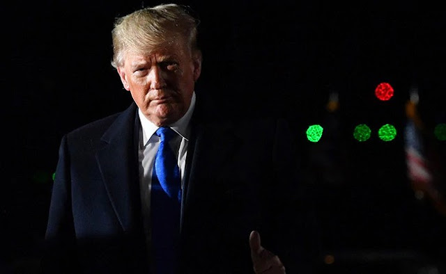 US President Donald Trump threatened sanctions against Baghdad