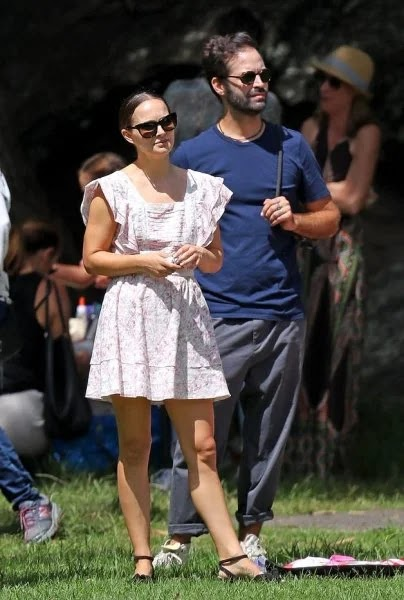 Natalie Portman and her husband starred on their daughter's birthday