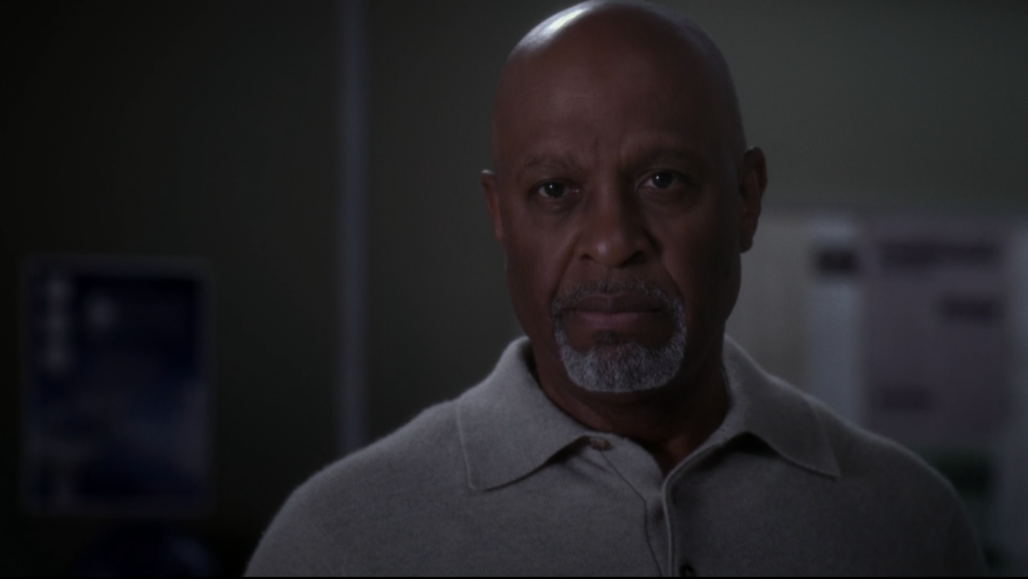 Richard Webber, en un episodio de Grey's Anatomy