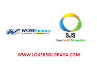 Lowongan Kerja Solo, Klaten, Wonogiri Terbaru di PT WOM Finance