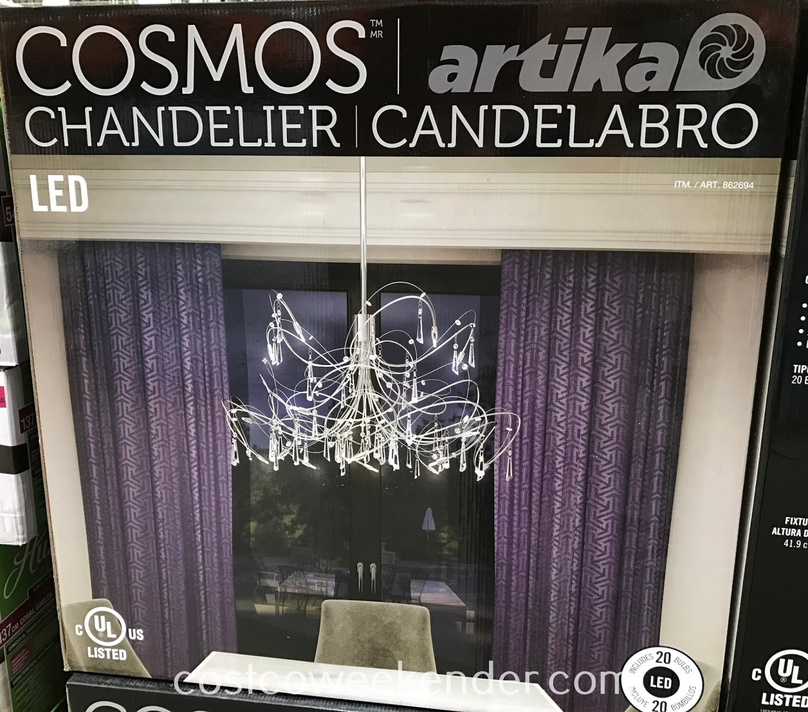 Artika Cosmos LED Chandelier