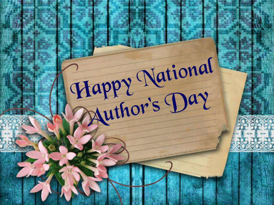 National Author's Day Wishes Unique Image