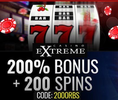 Hot Offer: 200% Bonus and 200 Free Spins | Casino Extreme