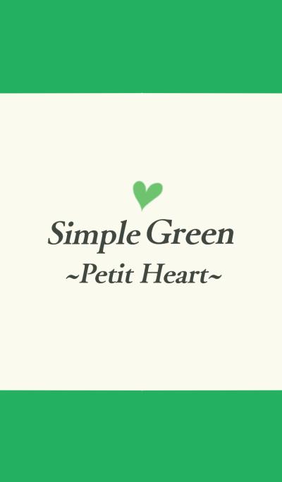 Simple Green ~Petit Heart.~