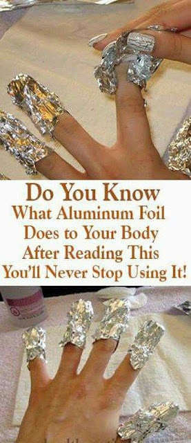 Do You Know What Aluminum Foil Does to Your Body After Reading This You'll Never Stop Using It!