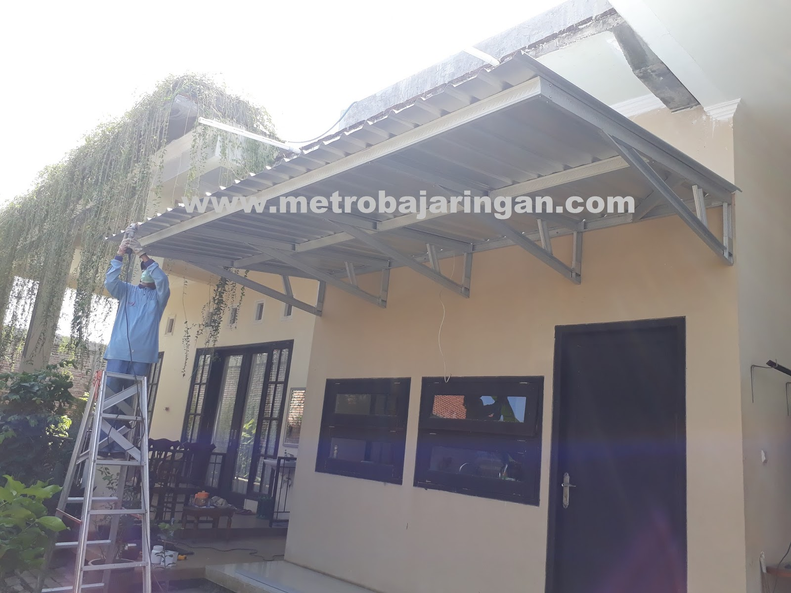 Pemasangan Baja Ringan Di Cikarang Gambar Konstruksi Kanopi | Expo Desain Rumah