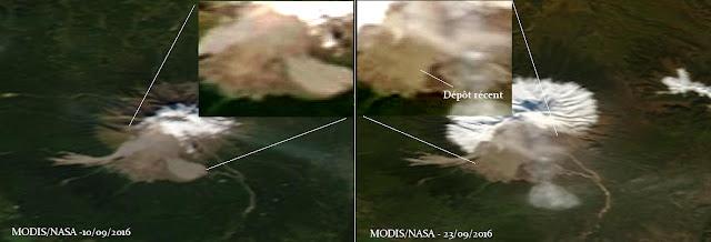 Volcan Sheveluch: un �v�nement important a eu lieu