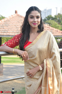 Angana Roy in Silk Saree at Teaching Tree Carnival .xyz 010.JPG