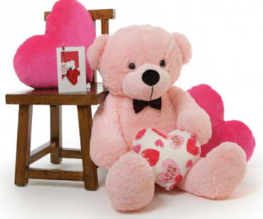 Romantic I Love You Teddy Bear Picture