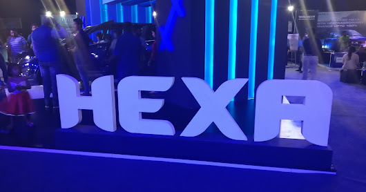 Tata Motors Hexa : High End UV Automobile made for Indian roads or any rugged Roads