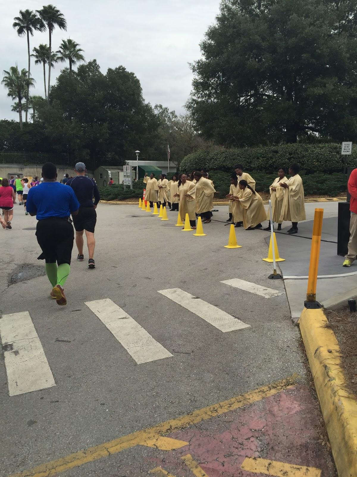 Dopey Challenge Mickey Marathon 2016 Disney's Choir