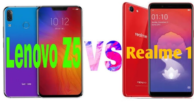 Which smartphone is best Lenovo z5 vs realme 1?