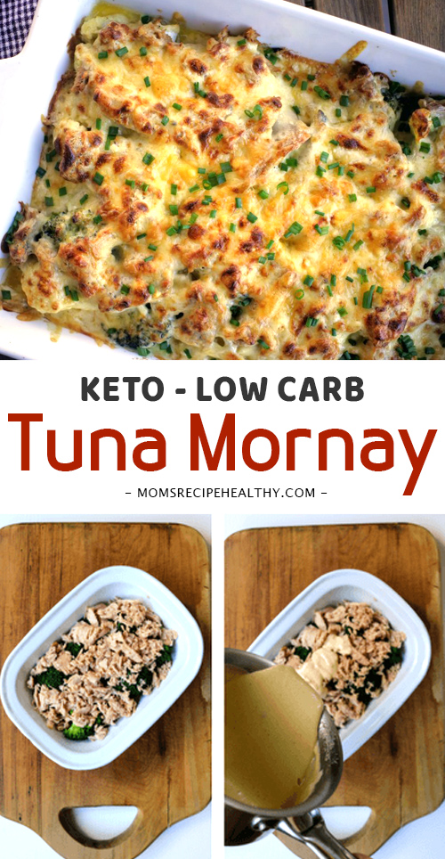 KETO LOW CARB TUNA MORNAY