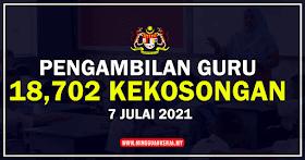 Pengambilan 18,702 Kekosongan Khas Guru Secara One-Off Tahun 2021