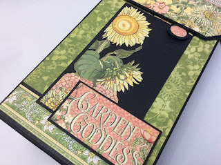 Tall Tag Album Garden Goddess Graphic 45