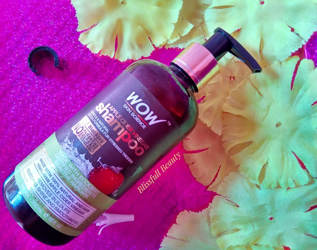Wow skin science apple cider vinegar shampoo Review