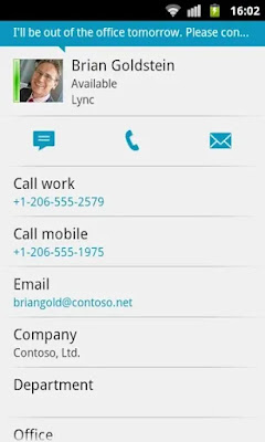 Lync 2010 Free Android App on Apcoid.com