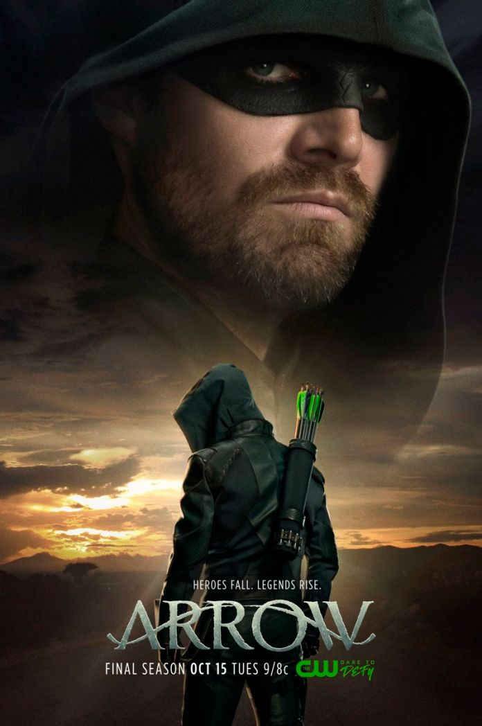 Arrow Temporada 8 Ingles Subtitulado // Latino 720p