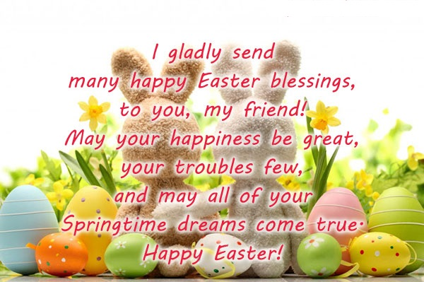 Happy Easter Messages For Whatsapp