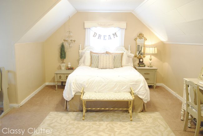 Romantic Master Bedroom Makeover Classy Clutter