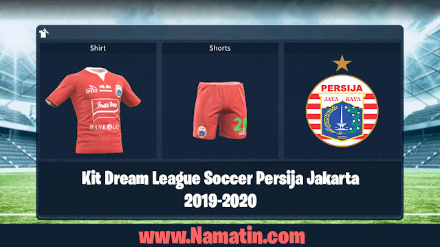 Kit Dream League Soccer Persija