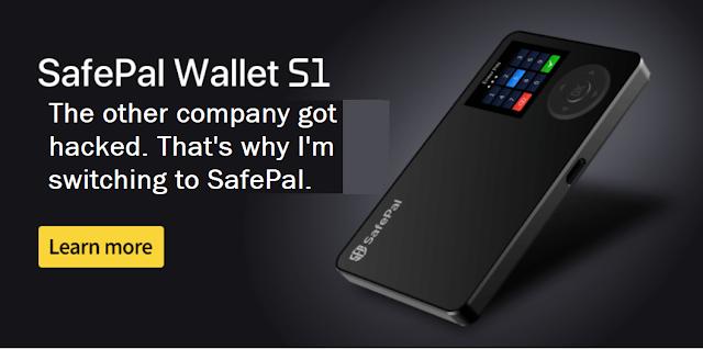 SafePal Wallet S1 hackproof