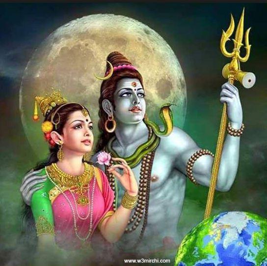 god shiva and goddess parvati