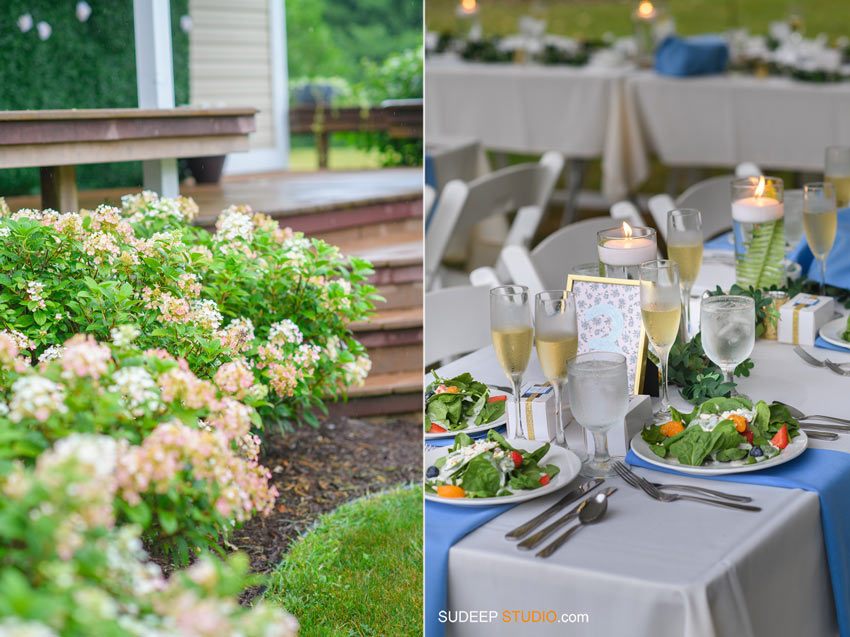 Rustic Farm Wedding Photography in Saline Dexter Decor Table settings by SudeepStudio.com Ann Arbor Wedding Photographer