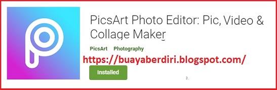 PicsArt Photo - Aplikasi Edit Foto Terbaik 2020