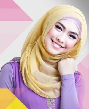 Model jilbab terbaru ala Oki setiana dewi (OSD)