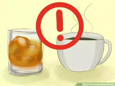 menghindari kopi berlebihan untuk resiko tulang keropos