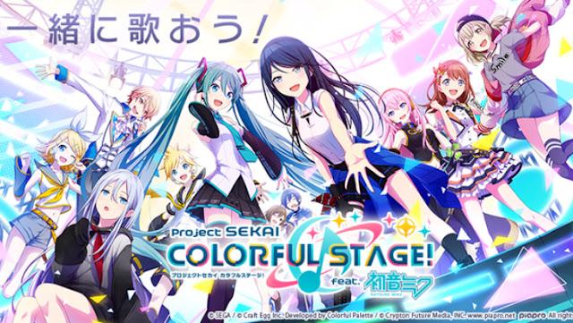 El juego Project Sekai: Colorful Stage feat. Hatsune Miku lanza un nuevo tráiler